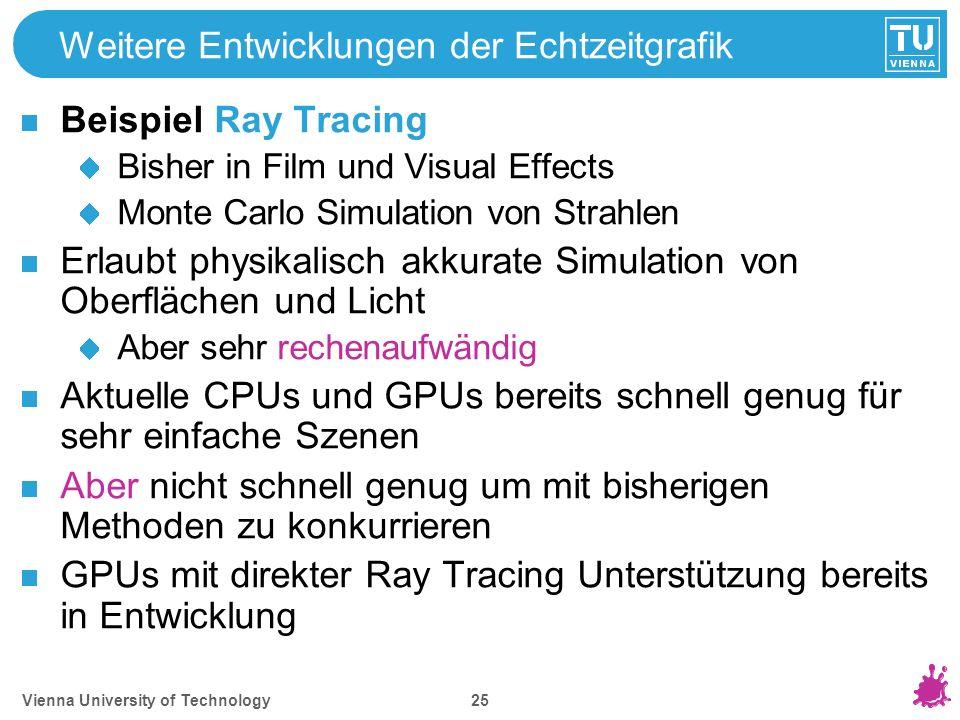Beispiele Video Vienna University of Technology