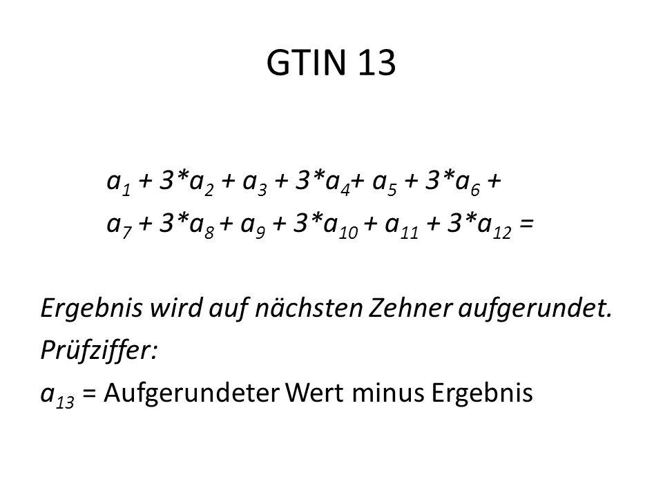 GTIN 13