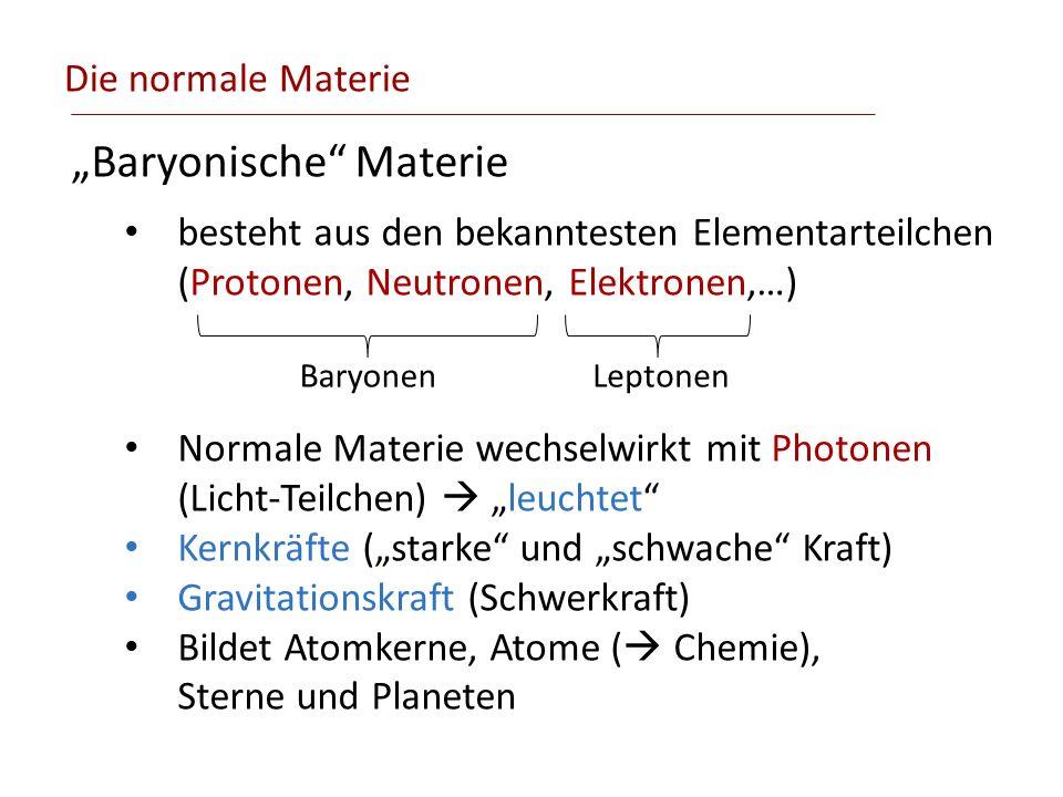 """Baryonische Materie"