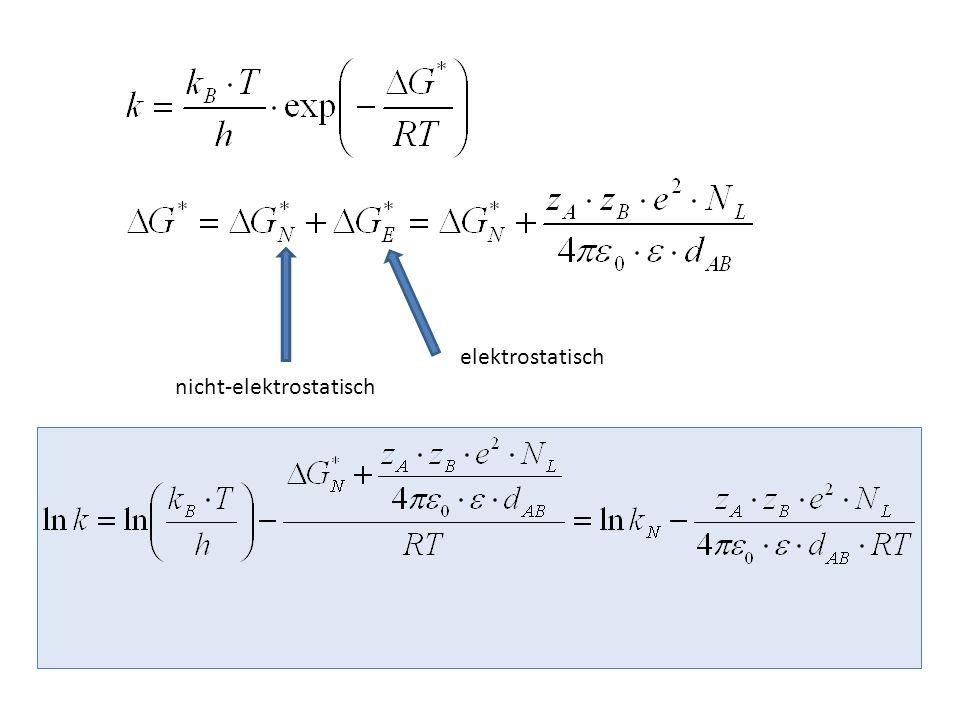elektrostatisch nicht-elektrostatisch