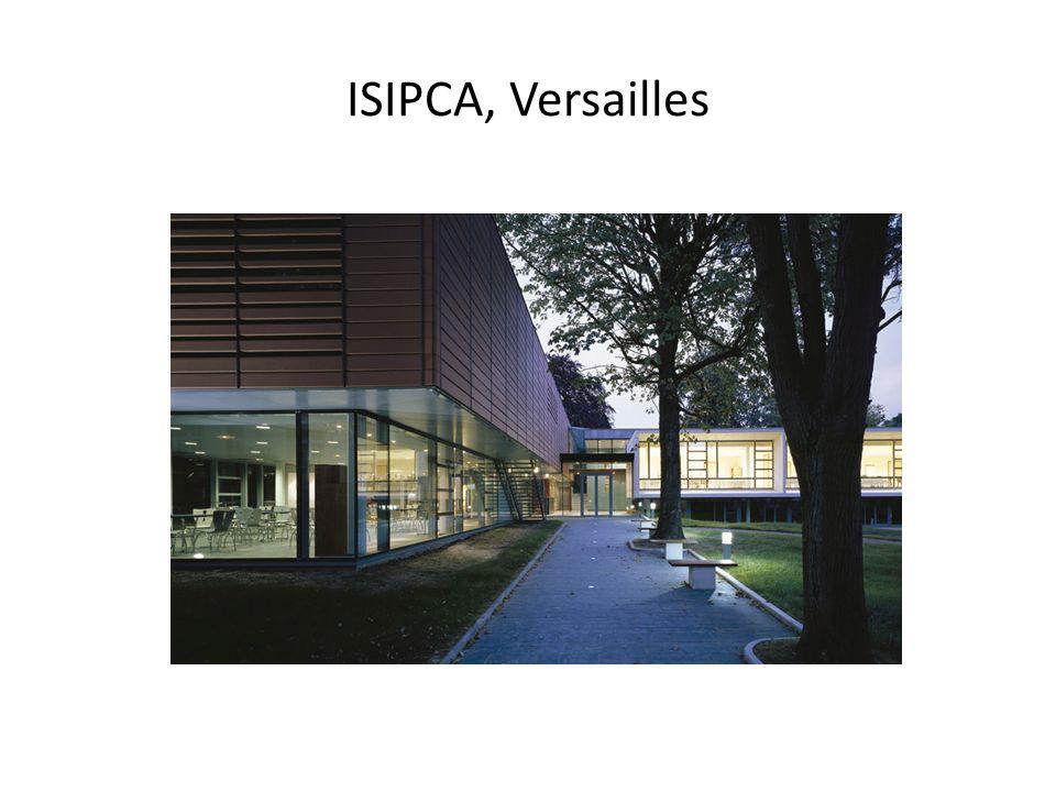 ISIPCA, Versailles