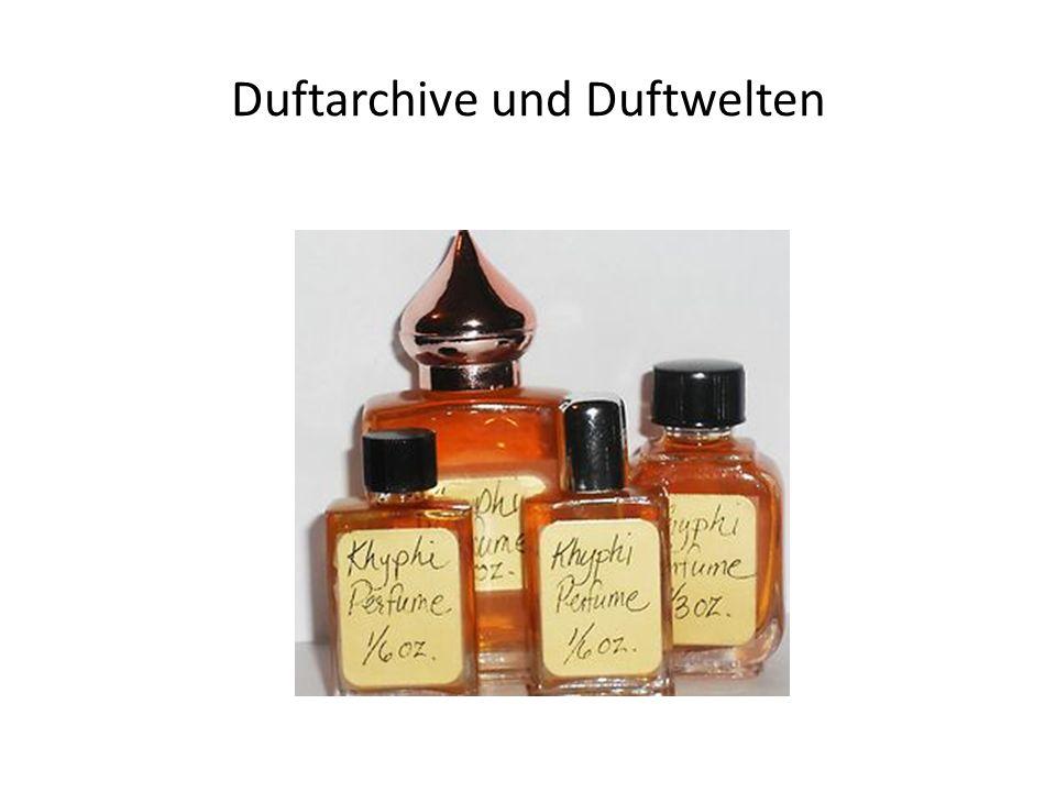 Duftarchive und Duftwelten