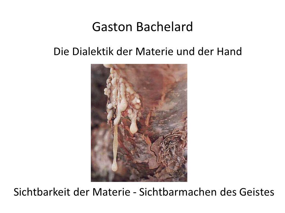 Die Dialektik der Materie und der Hand