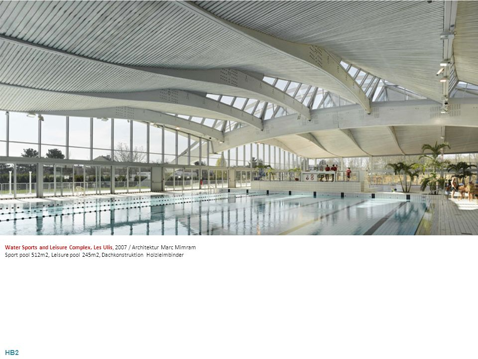 Water Sports and Leisure Complex, Les Ulis, 2007 / Architektur Marc Mimram
