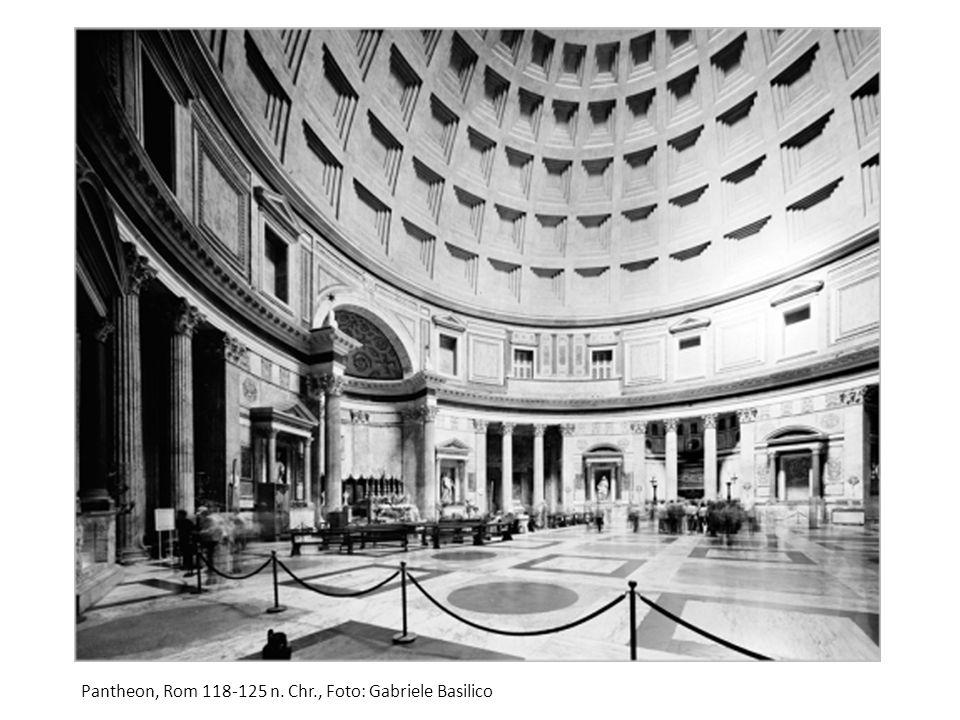 Pantheon, Rom 118-125 n. Chr., Foto: Gabriele Basilico