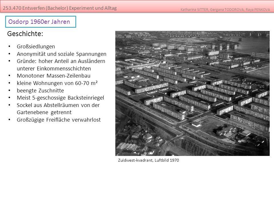 Geschichte: Osdorp 1960er Jahren Großsiedlungen