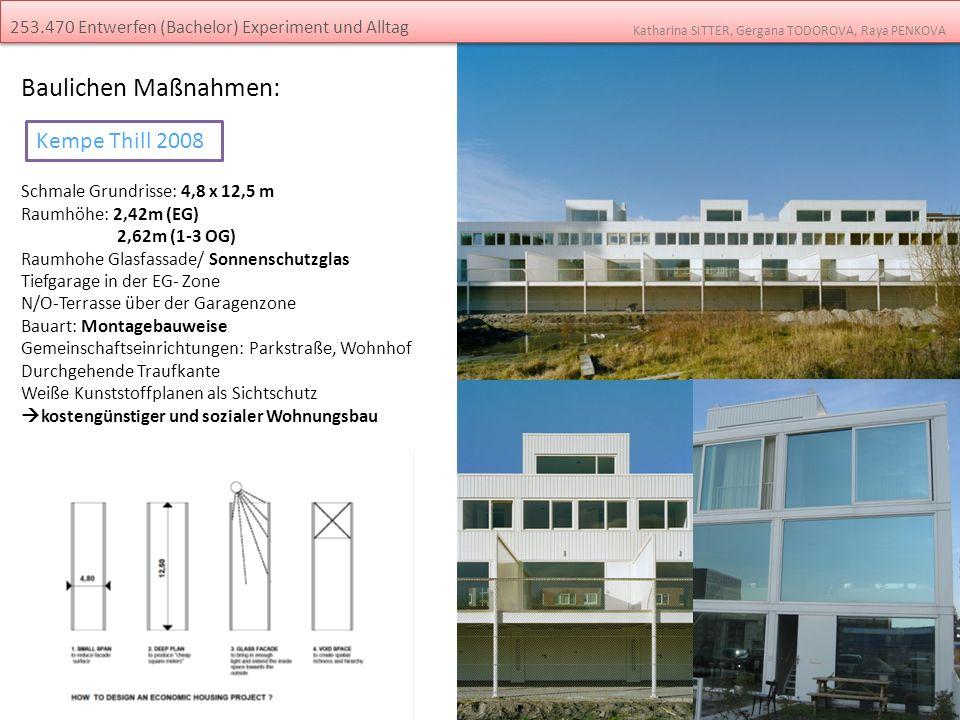 Baulichen Maßnahmen: Kempe Thill 2008
