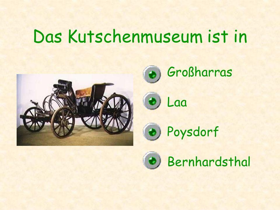 Das Kutschenmuseum ist in