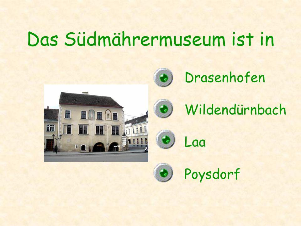 Das Südmährermuseum ist in