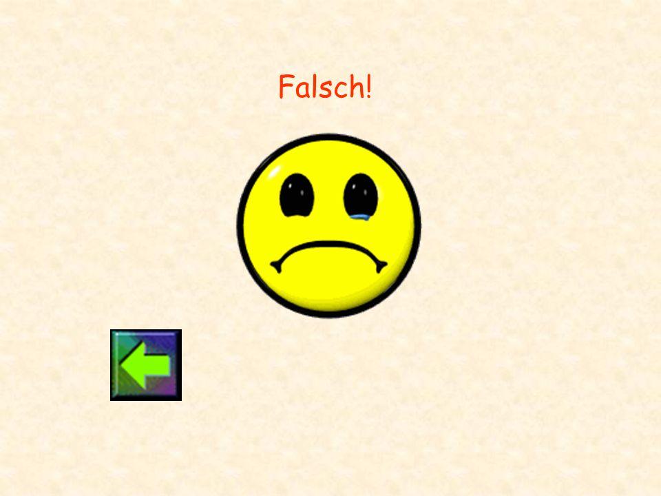 Falsch!