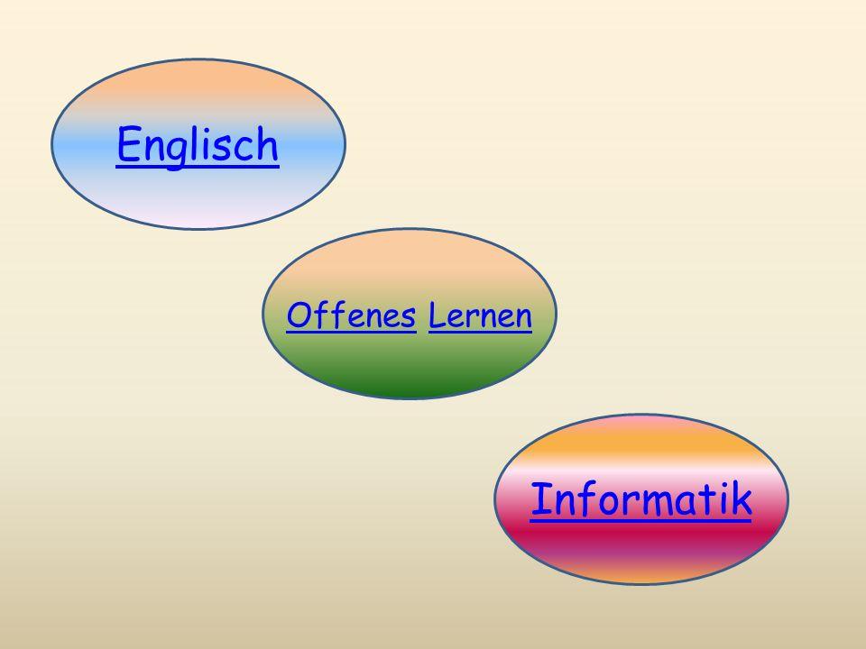 Englisch Offenes Lernen Informatik