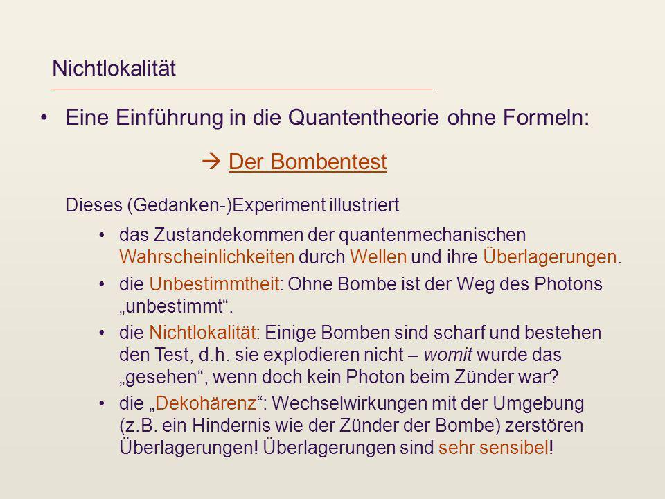 Eine Einführung in die Quantentheorie ohne Formeln: