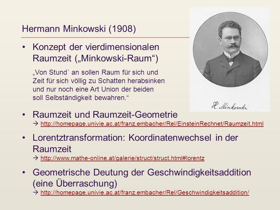 Hermann Minkowski (1908)