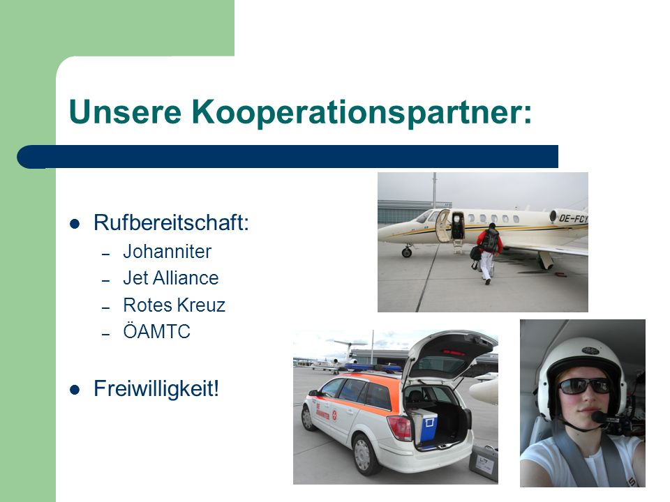Unsere Kooperationspartner: