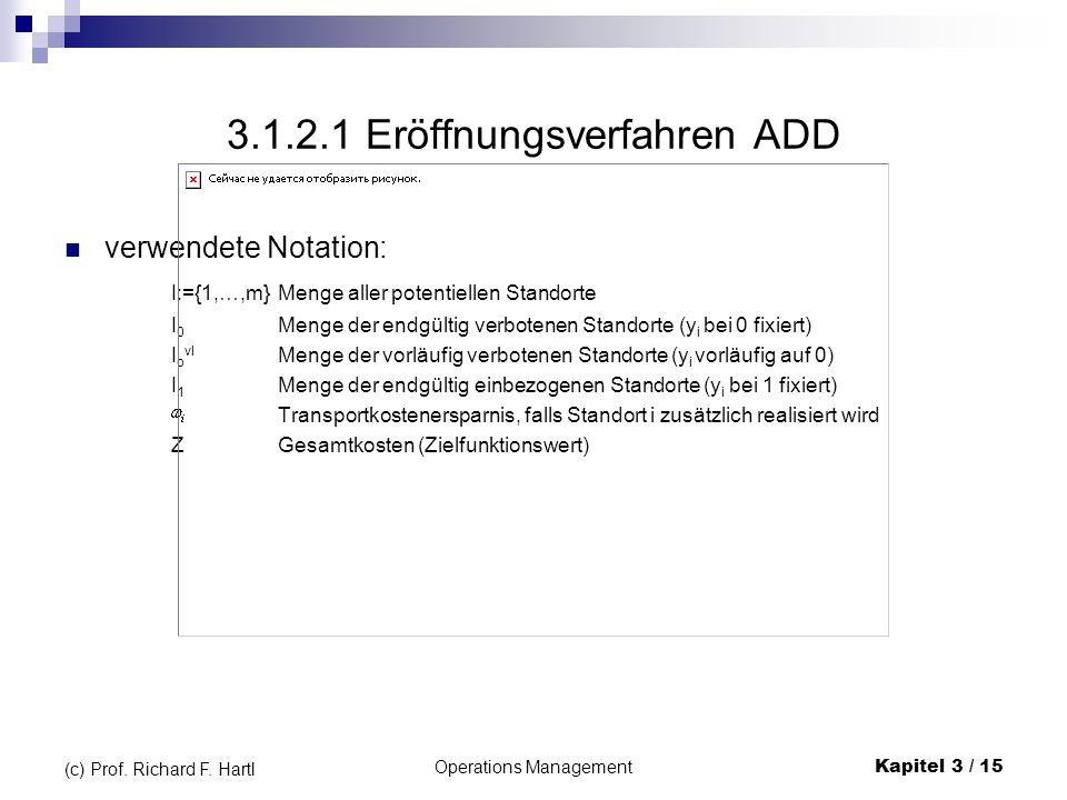 3.1.2.1 Eröffnungsverfahren ADD