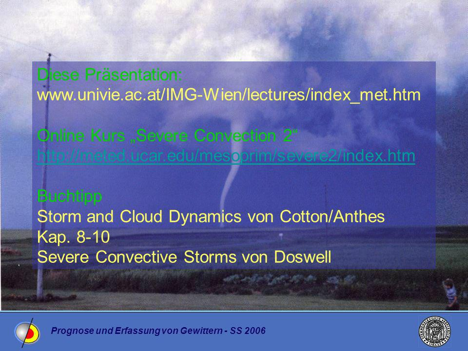 "Online Kurs ""Severe Convection 2"