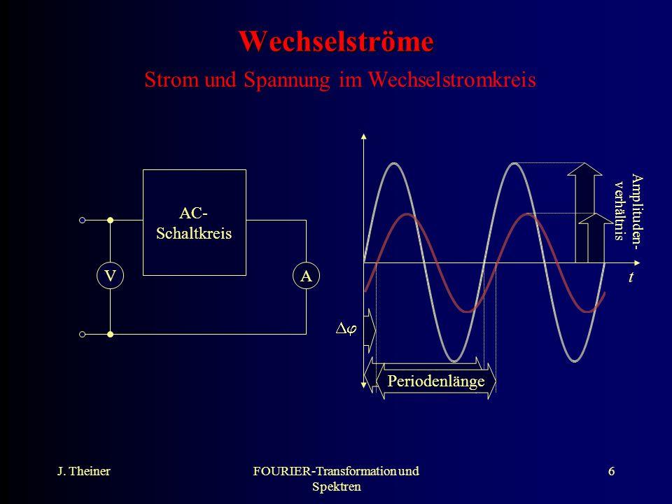 Wechselströme Strom und Spannung im Wechselstromkreis
