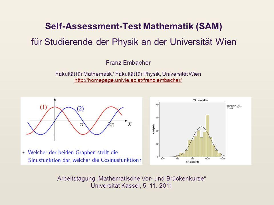 """Arbeitstagung """"Mathematische Vor- und Brückenkurse"""
