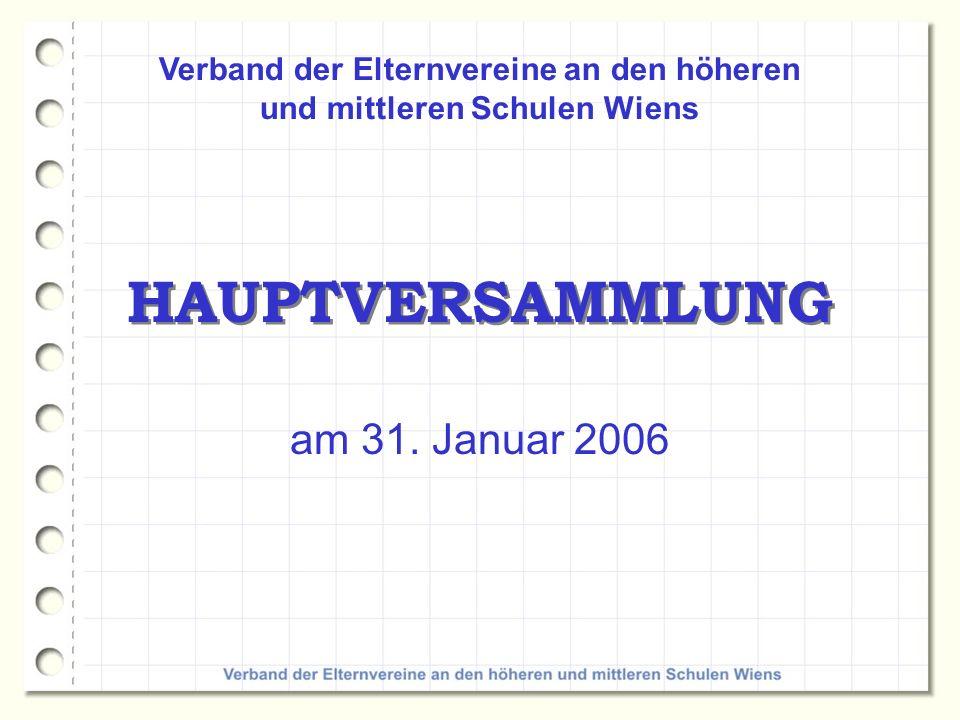 Verband der Elternvereine an den höheren und mittleren Schulen Wiens