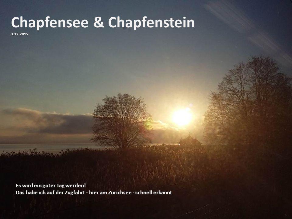 Chapfensee & Chapfenstein