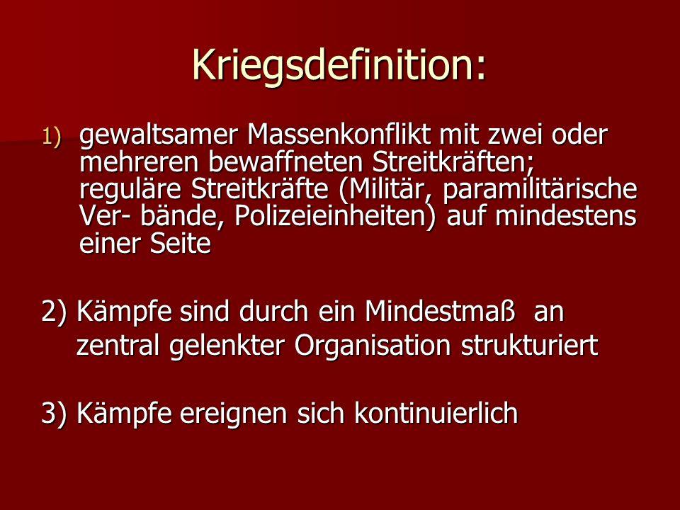 Kriegsdefinition: