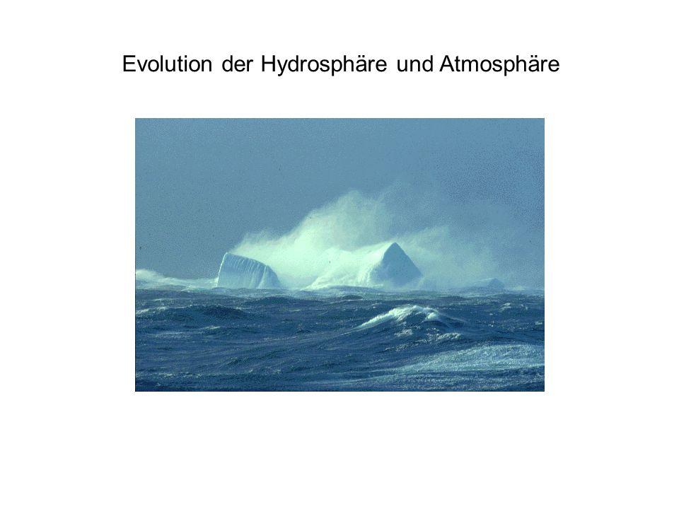 Evolution der Hydrosphäre und Atmosphäre