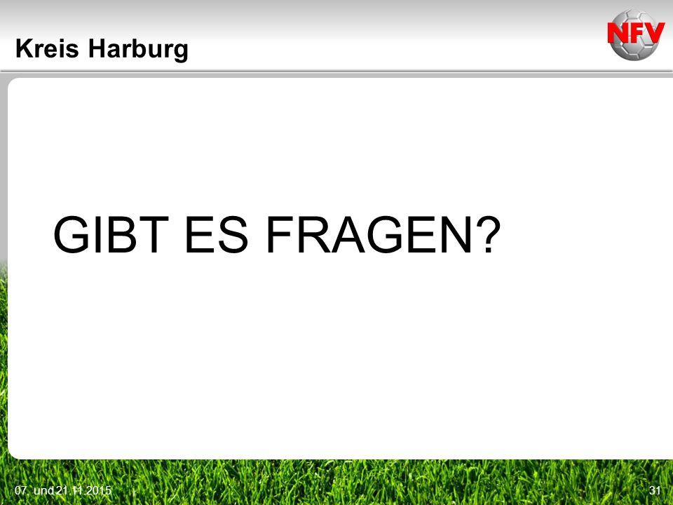 Kreis Harburg GIBT ES FRAGEN 07. und 21.11.2015