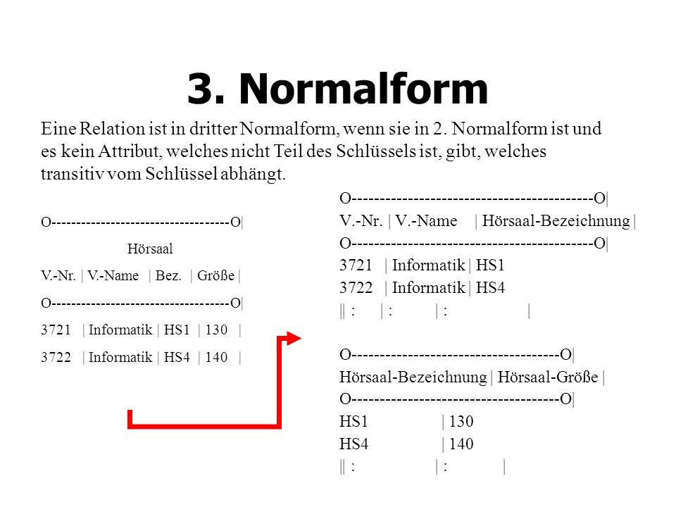3. Normalform