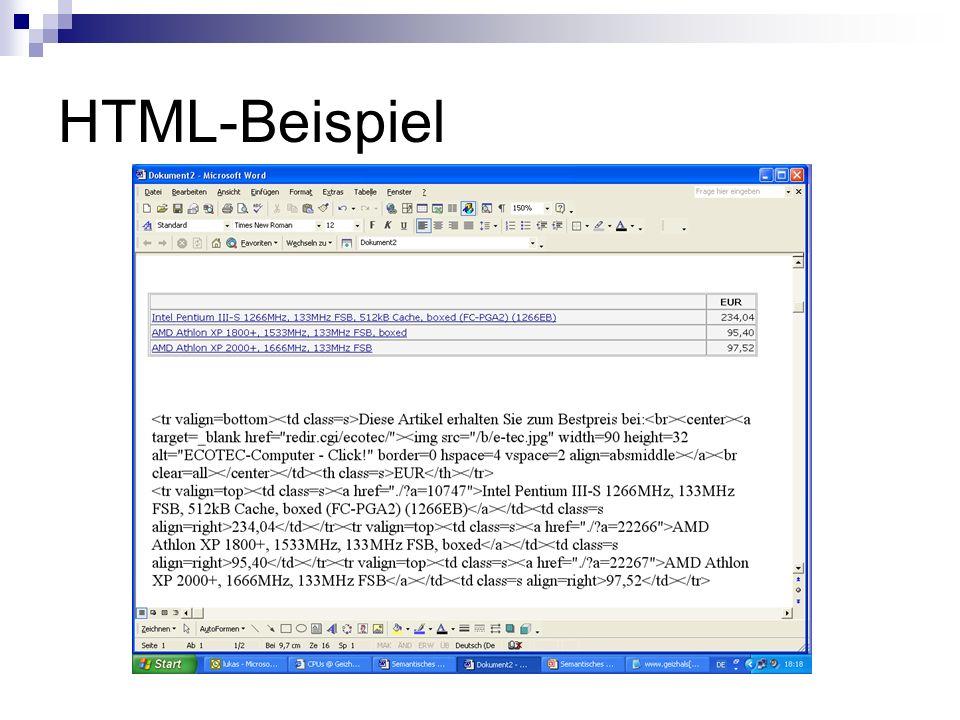 HTML-Beispiel