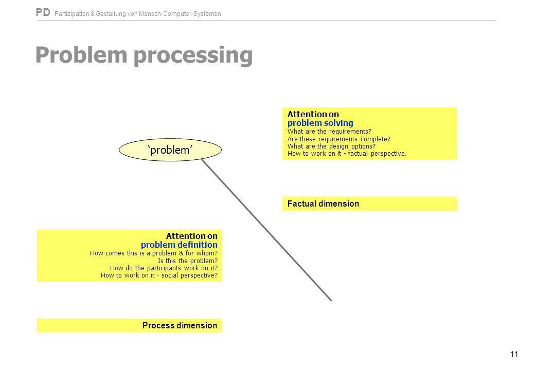 Problem processing 'problem'
