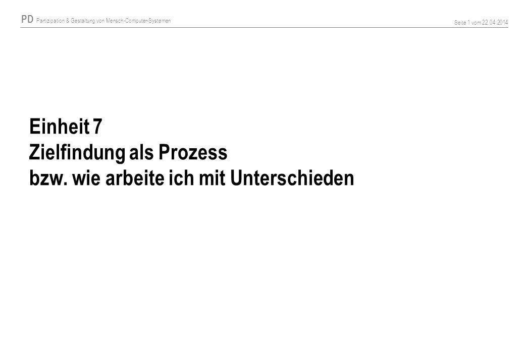 Einheit 7 Zielfindung als Prozess bzw