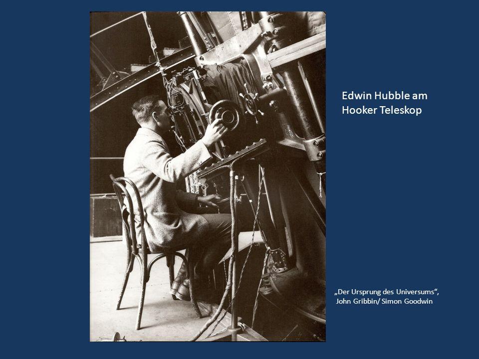 Edwin Hubble am Hooker Teleskop