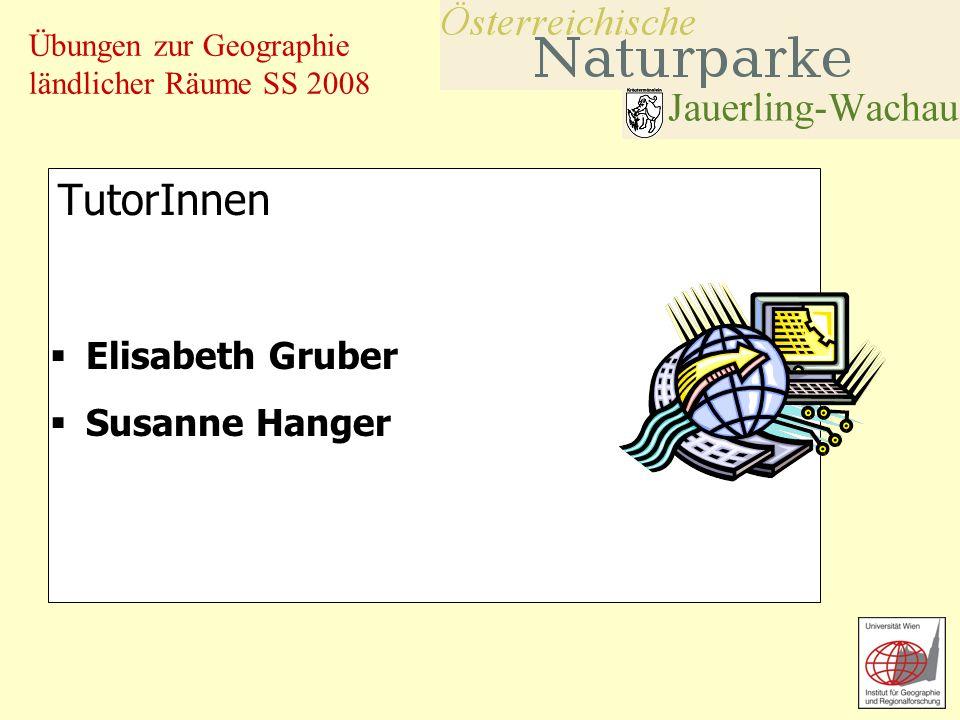 TutorInnen Elisabeth Gruber Susanne Hanger