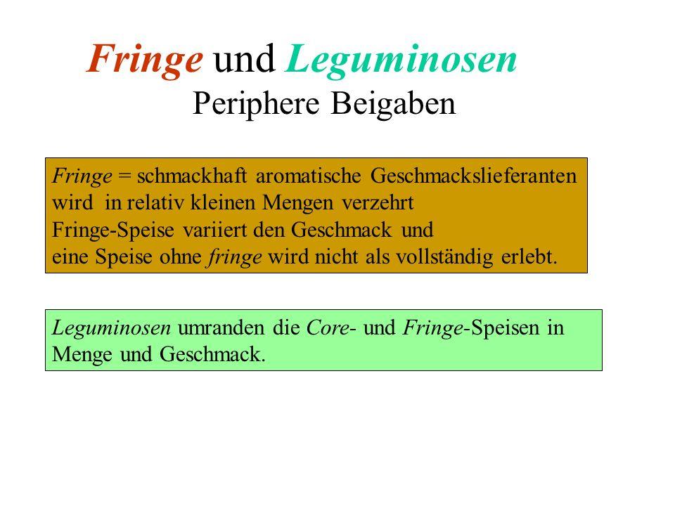Fringe und Leguminosen