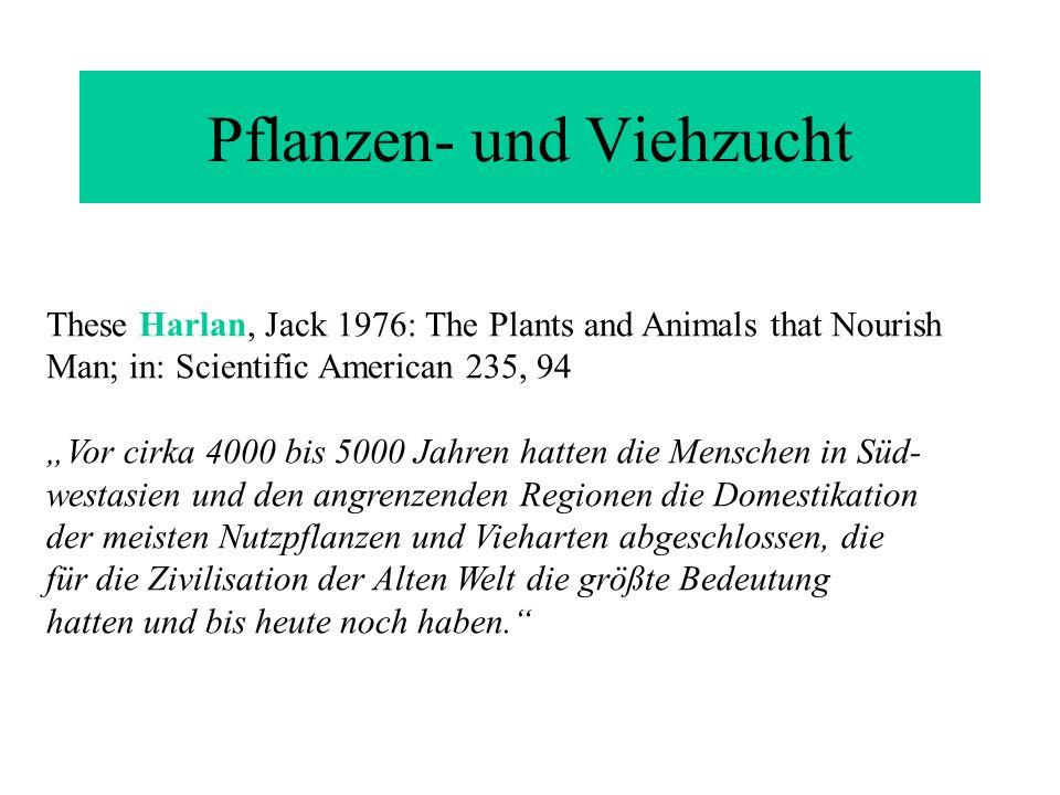 Pflanzen- und Viehzucht