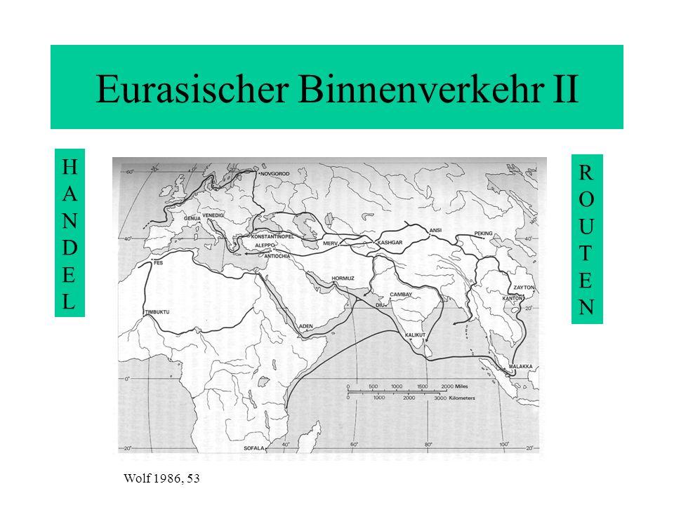 Eurasischer Binnenverkehr II