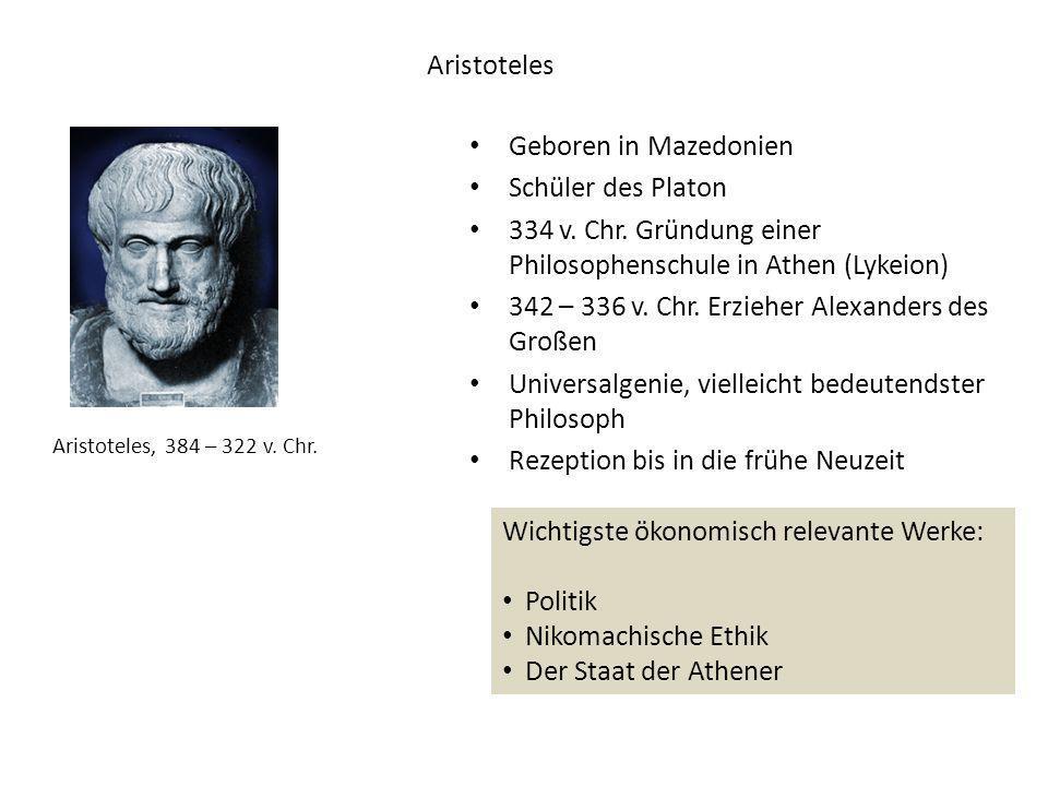 334 v. Chr. Gründung einer Philosophenschule in Athen (Lykeion)