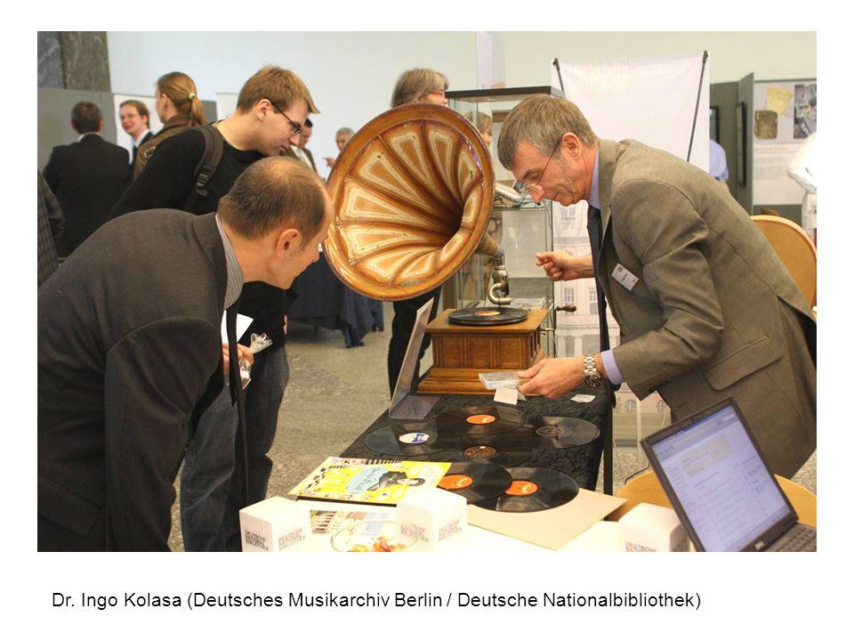 Dr. Ingo Kolasa (Deutsches Musikarchiv Berlin / Deutsche Nationalbibliothek)