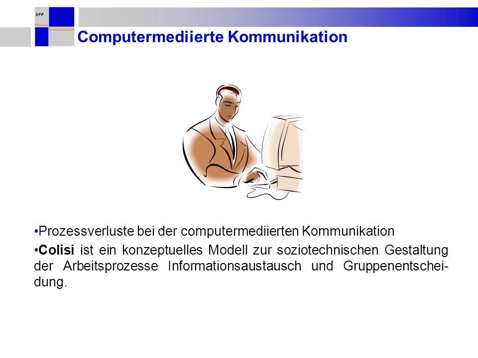 Computermediierte Kommunikation
