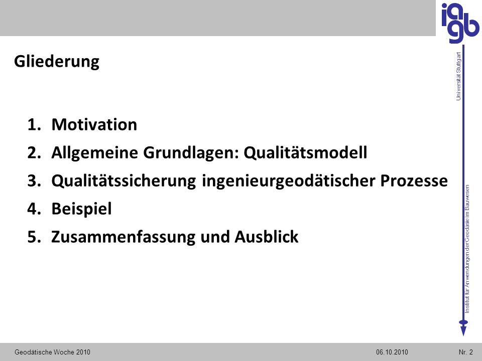 Allgemeine Grundlagen: Qualitätsmodell