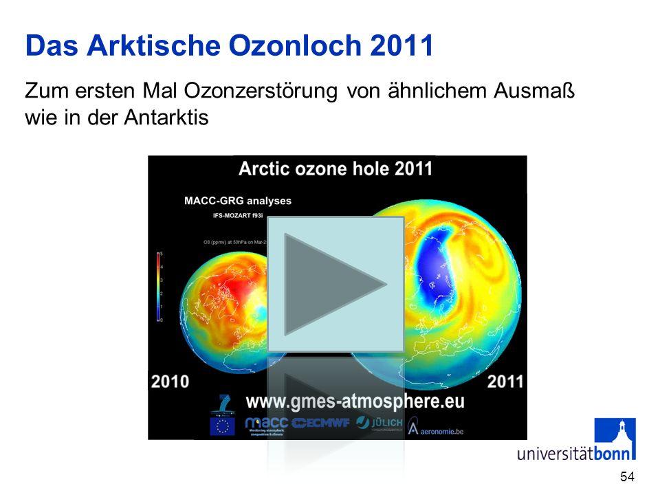 Das Arktische Ozonloch 2011