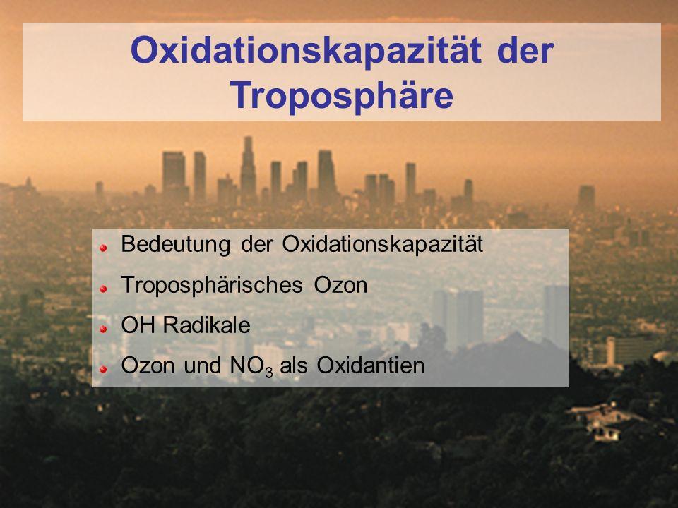 Oxidationskapazität der Troposphäre