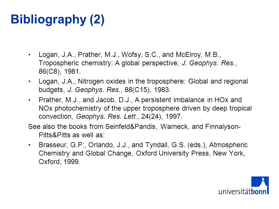 Bibliography (2)
