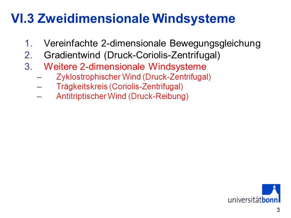 VI.3 Zweidimensionale Windsysteme
