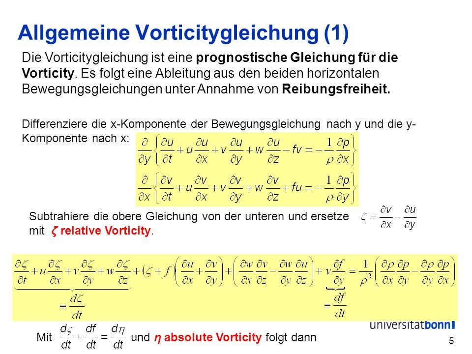 Allgemeine Vorticitygleichung (1)