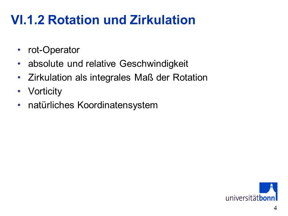 VI.1.2 Rotation und Zirkulation