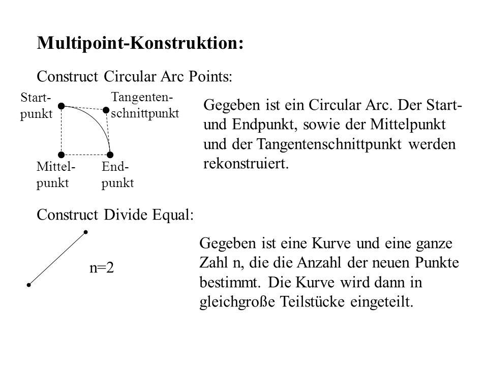 Multipoint-Konstruktion: