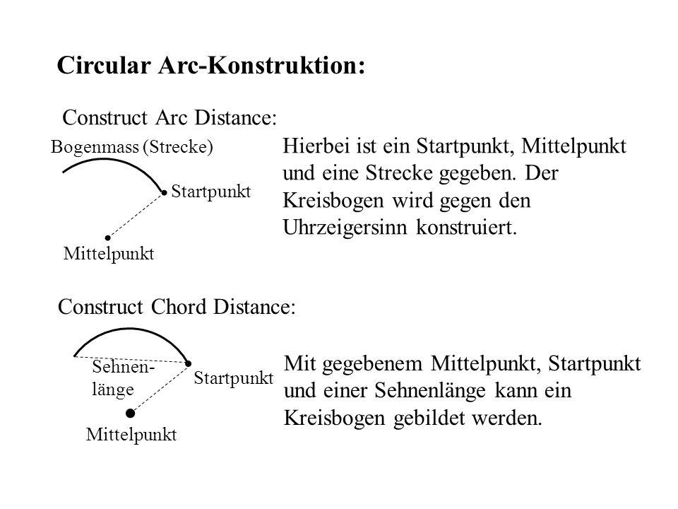 Circular Arc-Konstruktion: