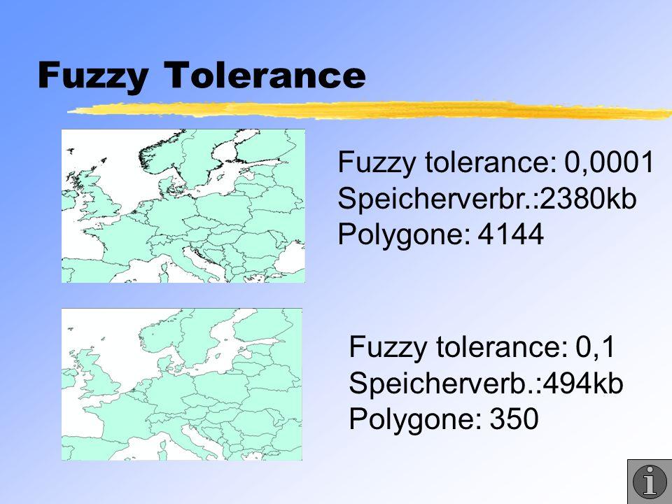 Fuzzy Tolerance Fuzzy tolerance: 0,0001 Speicherverbr.:2380kb Polygone: 4144.