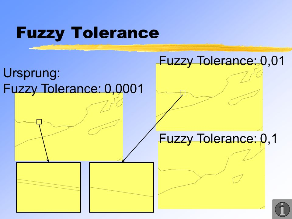 Fuzzy Tolerance Fuzzy Tolerance: 0,01